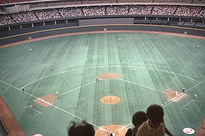 1974 Cincinnati Reds season - The Reds play at Riverfront Stadium, 1974