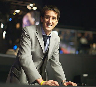 Rob Walker (sports announcer) - Rob Walker at 2012 Masters in London