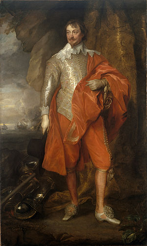 Robert Rich, 2nd Earl of Warwick - Robert Rich, 2nd Earl of Warwick, portrait by Anthony van Dyck