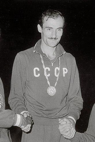 Robert Shavlakadze - Shavlakadze at the 1960 Olympics