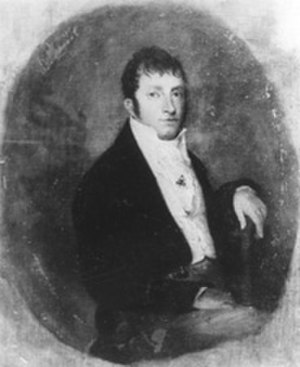 Robert Ward Johnson - Portrait of Johnson in his younger years.