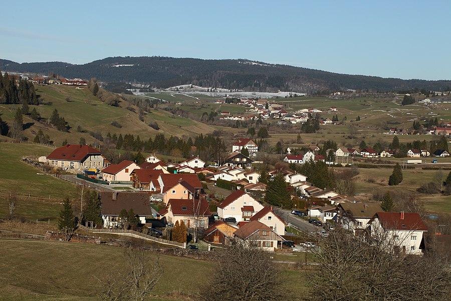 Vallée du Doubs à Rochejean.