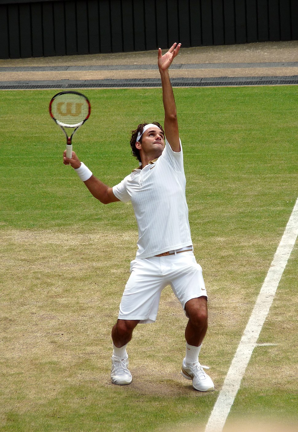 Roger Federer (26 June 2009, Wimbledon) 2