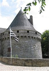 The Château des Rohan in Pontivy