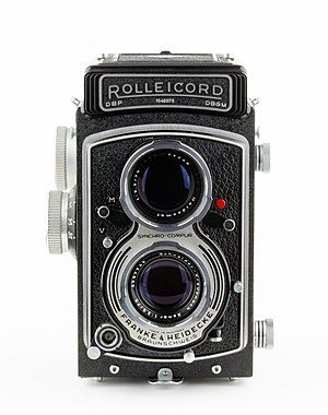 Rolleicord - Rolleicord Model V, 1955