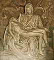 Rom - San Pietro - Pieta von Michelangelo (7516863034).jpg