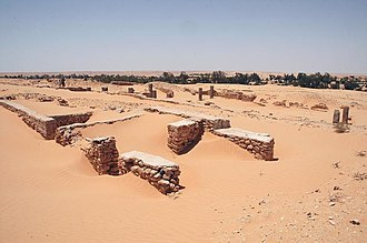 AD 17 - Ruins of the Limes Tripolitanus (Africa)