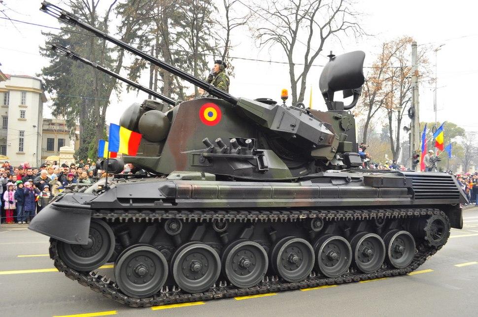 Romanian Gepard tank