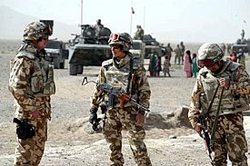 Rumänische ISAF-Soldaten