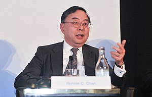 Ronnie Chan - Ronnie Chan, Chairman, Hang Lung Properties