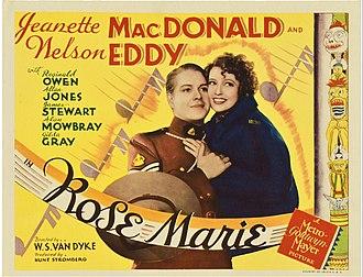 Rose Marie (1936 film) - Lobby card