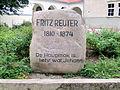 Rostock Warnemuende Fritz-Reuter-Stein 2012-09-07.jpg