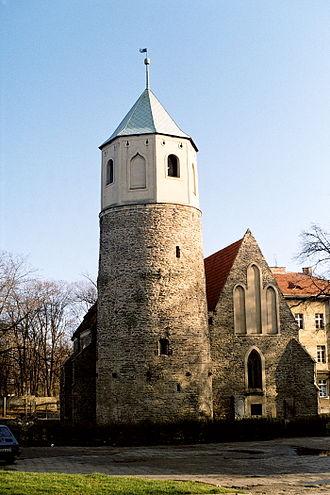 Strzelin - St. Godehard's Rotunda, Strzelin