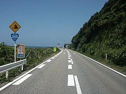 Route345 Nigata Pref Murakami City 1.jpg