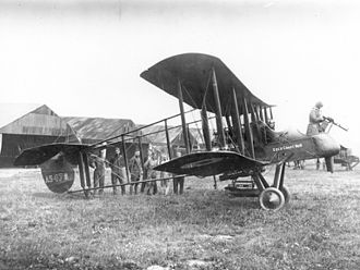 No. 25 Squadron RAF - Royal Aircraft Factory F.E.2, similar to those operated by No. 25 Squadron from 1916 to 1917.