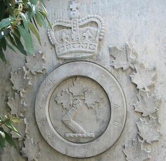 Royal Roads University - Royal Roads Military College carving