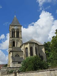 The church of Rozet-Saint-Albin