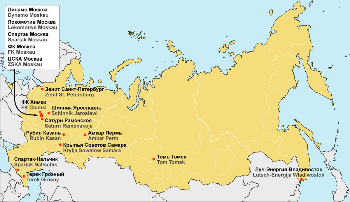 1 liga russland