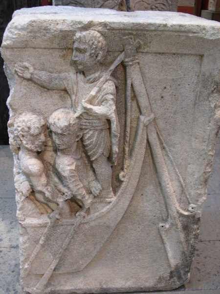 File:Rudder of a Roman Boat (RG Museum Koeln, Germany).JPG