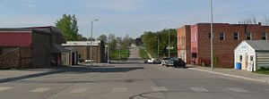 Rulo, Nebraska - Downtown Rulo: 1st Street