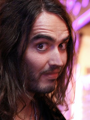 English comedian Russell Brand.