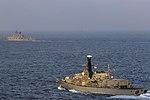 Russian cruiser Marshal Ustinov and HMS St Albans MOD 45165081.jpg