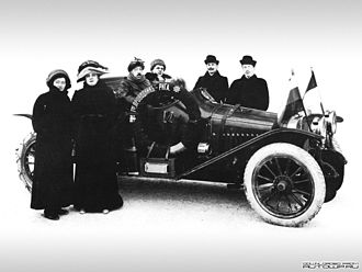 Rallying - 1912 Monte Carlo Rally entrant