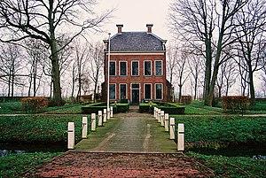 Wirdum, Groningen - Borg Rusthoven, built in 1686