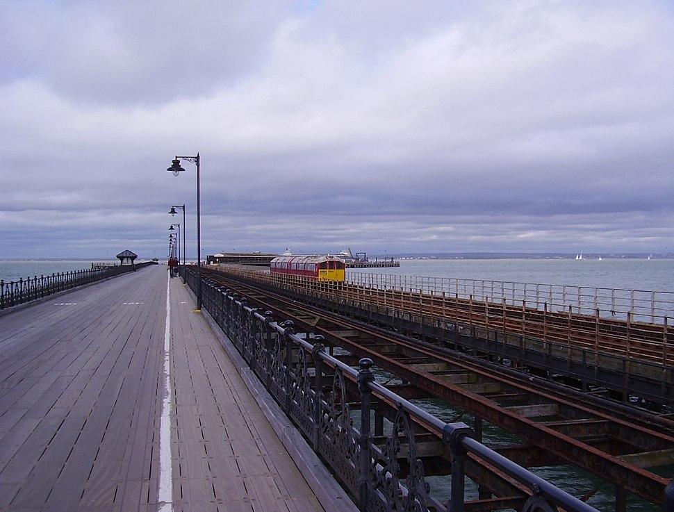 Ryde Pier, IW, UK