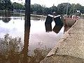 Rye High football field flooded in 2011.jpg