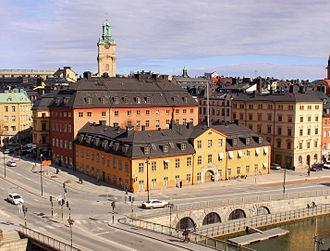 Riddarhustorget - Ryning Palace at Riddarhustorget
