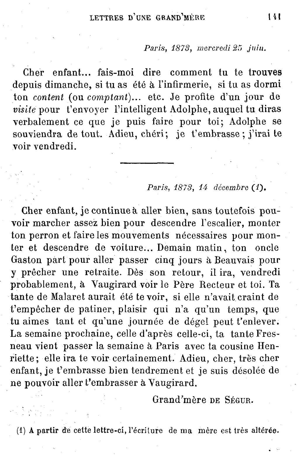 Pageségur Lettres D Une Grand Mèredjvu141 Wikisource