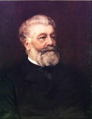 Stefano Ussi - Self-portrait, 1896