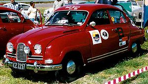 Saab 96 - Saab Sport, a modified version of the Saab 96