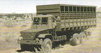 12 South African Infantry Battalion - SADF Kwevoel 100 horse carrier