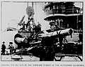 SHIPPING THE BIG GUN IN THE FORWARD TURRET OF THE BATTLESHIP KEARSARGE.jpg