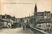 SJS 81 - ANGOULEME - Eglise et Faubourg Saint-Ausonne
