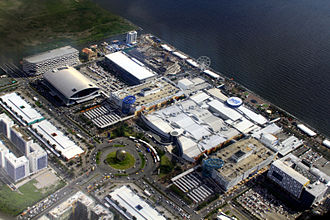 SM Mall of Asia - Aerial view of SM Mall of Asia (2014)