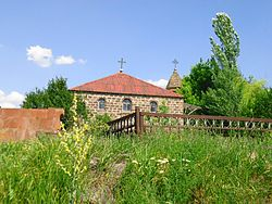 SOURB STEPANOS CHURCH IN SUMMER, ABOVYAN, ARMENIA.jpg