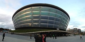 2015 World Artistic Gymnastics Championships - The SSE Hydro, where the competition took place