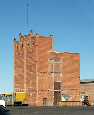 Southwestern Brewery and Ice Company - Southwestern Brewery, south and east elevations