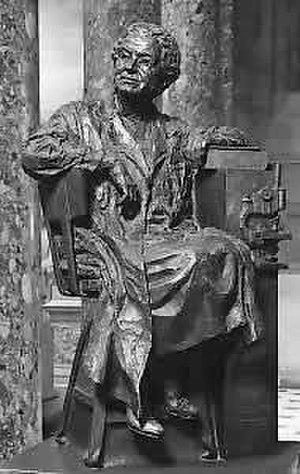 Florence R. Sabin - NSHC statue of Florence Sabin