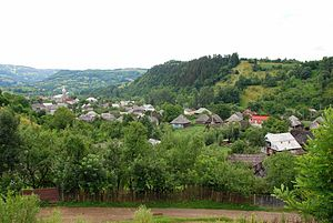 Săcel, Maramureș - View of the village
