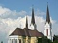 Sacred Heart Catholic Church (west view) in Futog, Vojvodina, Serbia - 20060602.jpg