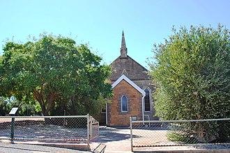Saddleworth, South Australia - Image: Saddleworth Church