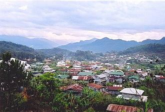 Sagada - Panoramic view of Sagada