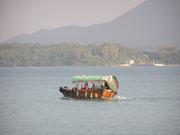 A passenger boat to the islands off the coast of the Sai Kung Peninsula of Hong Kong.