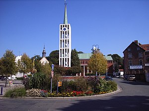 Saint-Pol-sur-Ternoise - The bell tower of Saint-Pol-sur-Ternoise