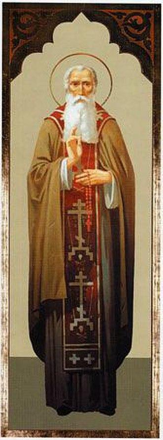 Joannicius the Great - Image: Saint Joannicius the Great