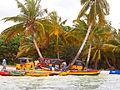 Sainte marie Madagascar pirogue taxi depot.JPG